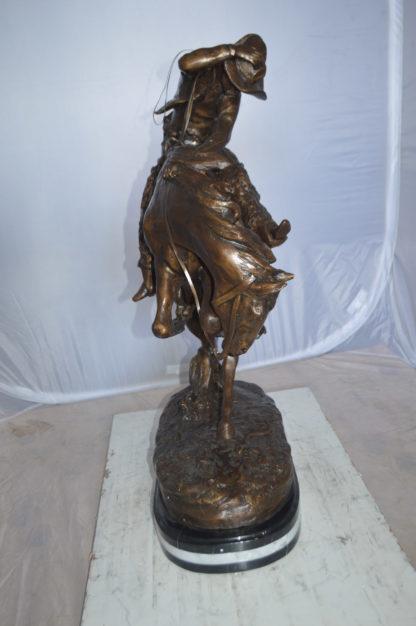 "Jumbo Rattle Snake by Remington Bronze Statue -  Size: 21""L x 11""W x 32""H."