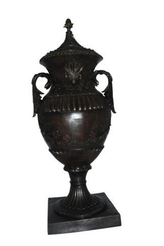 "Vase - spirit large Bronze Statue -  Size: 21""L x 16""W x 48.5""H."