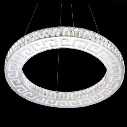 LED Chandelier Modern-Classic one Ring - Diameter 600 MM or approx 23.6 Inches