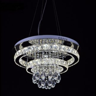 LED Chandelier Living Room 001 - Diameter Size is: 600 MM or approx 23.6 Inches