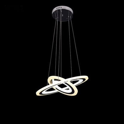 LED Chandelier Living Room 013 - Diameter Size is: 500 MM or approx 19.7 Inches