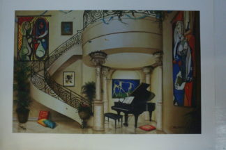 "Orlando Quevedo Giclée - In The Mood For Love Painting -  Size: 21""L x 13.5""W"