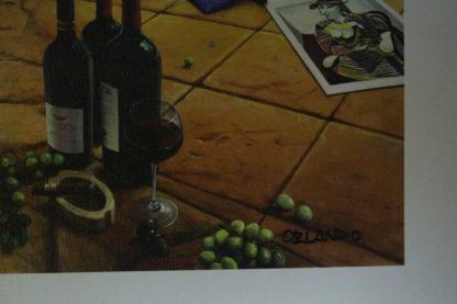 """Orlando Quevedo Giclée - Day Break Painting -  Size: 21""""L x 13.5""""W"""