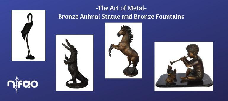 The Art of Metal - Bronze Animal Statue and More