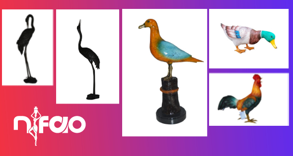3 Super Simple Ways to Take Care of Your Bronze Bird Statues